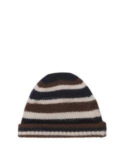 Marni | Striped Wool Knit Beanie Hat