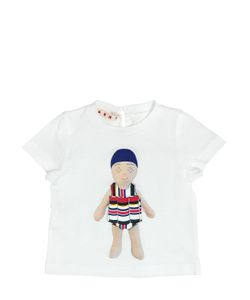 MARNI JUNIOR | Doll Printed Cotton Jersey T-Shirt