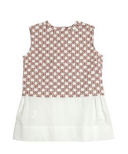 MARNI JUNIOR | Cotton Jersey And Poplin Top