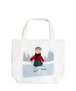 MARNI JUNIOR | Ice Skater Printed Cotton Canvas Bag