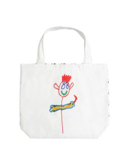 MARNI JUNIOR | Drawing Printed Cotton Canvas Bag