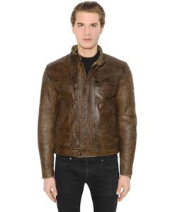 MATCHLESS LONDON | Dandy Shearling Leather Jacket