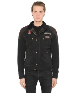 MATCHLESS LONDON | Rebel Waxed Cotton Leather Jacket