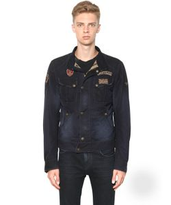 MATCHLESS LONDON | Viney Rebel Waxed Cotton Blouson Jacket