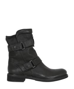 MATCHLESS LONDON | Wild One Zip-Up Leather Biker Boots