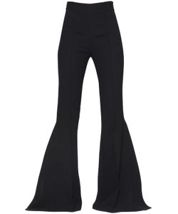 MATICEVSKI | High Waist Ruffled Flared Cady Pants
