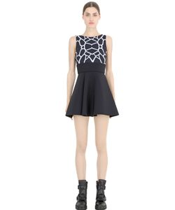 MAUNA KEA | Printed Techno Jersey Dress