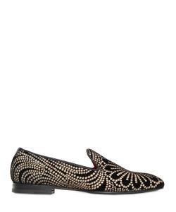 Maxverre | Loto Brocade Velvet Loafers