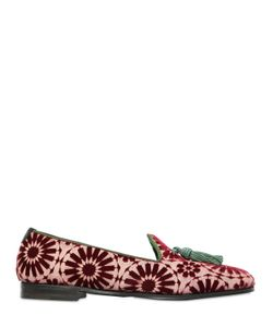Maxverre | Marrakesh Brocade Velvet Loafers
