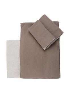 MAZZONI | Vintage Collection Linen Duvet Cover Set