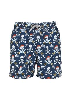 Mc2 Saint Barth | Gustavia Saber Pirate Swim Shorts