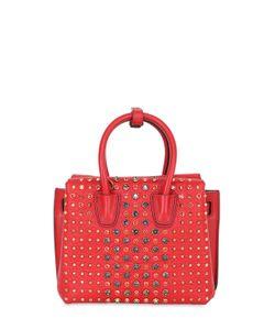 MCM | Mini Milla Studded Leather Shoulder Bag