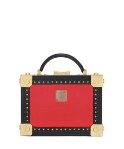MCM | Berlin Faux Leather Shoulder Bag