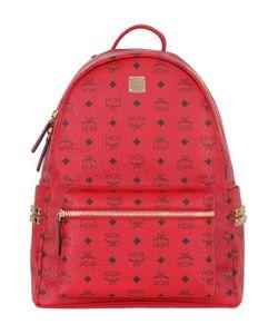 MCM | Medium Stark Faux Leather Backpack