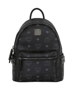 MCM | Mini Stark Faux Leather Backpack