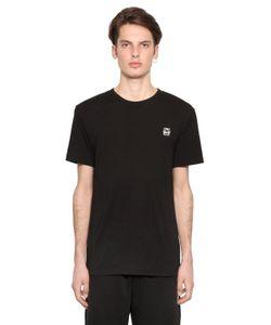 Mcq Alexander Mcqueen | 3d Geo Logo Detail Cotton Jersey T-Shirt
