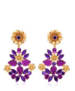 MERCANTIA | Lux Flower Drop Earrings