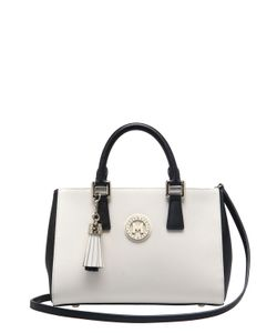 METROCITY | Small Saffiano Leather Top Handle Bag
