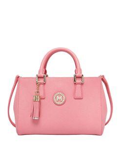 METROCITY | Medium Saffiano Leather Top Handle Bag