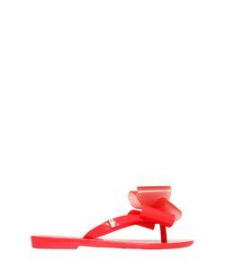 MINI MELISSA | Scented Bow Appliqué Flip Flops