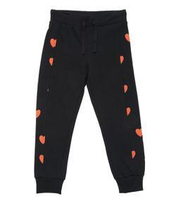 Mini Rodini | Hearts Cotton Fleece Jogging Pants