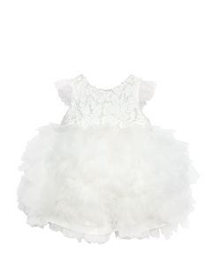 MISCHKA AOKI | Handmade Georgette Tulle Dress
