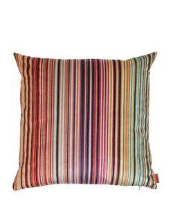 Missoni | Reno Striped Velvet Pillow