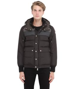 Moncler | Wilms Nylon Flannel Down Jacket