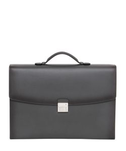 Mont Blanc | Leather Single Gusset Briefcase