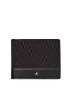 Mont Blanc | 6cc Leather Grosgrain Wallet