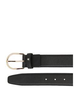 Mont Blanc | 35mm Classic Line Leather Belt