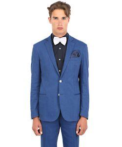 Montezemolo | Stretch Linen Viscose Blend Jacket