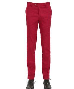 Montezemolo | 18cm Stretch Linen Viscose Blend Pants