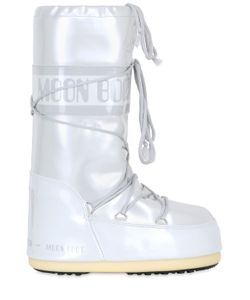 Moon Boot | Shiny Nylon Waterproof Snow Boots