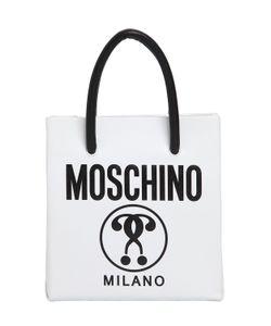 Moschino   Mini Logo Shopping Nappa Leather Tote