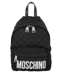 Moschino | Small Logo Quilted Nylon Backpack