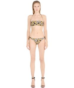 MOSCHINO BEACHWEAR | Teddy Bear Bandeau Bikini