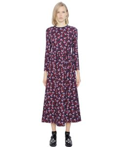 Mother Of Pearl | Floral Print Viscose Blend Jersey Dress