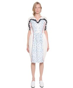 Mother Of Pearl | Embellished Woven Cotton Dress
