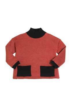 MOTORETA | Cotton Sweatshirt W/ Contrasting Details