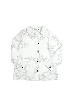 MOTORETA | Printed Cotton Poplin Shirt