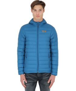 MOUNTAIN HARDWARE | Micro Ratio Hooded Down Jacket