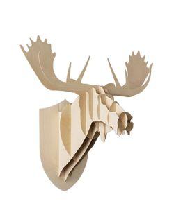 Mustache | Moose Wooden Wall Trophy
