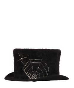 Move | Spider Web Rabbit Fur Top Hat