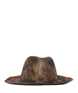 Move | Hand-Painted Wool Felt Hat