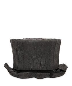 Move   Tree Trunk Rubber Wool Felt Top Hat