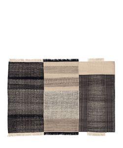 NANIMARQUINA | Tres Black Wool Cotton Rug