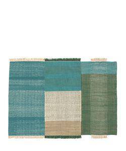 NANIMARQUINA | Tres Green Wool Cotton Rug