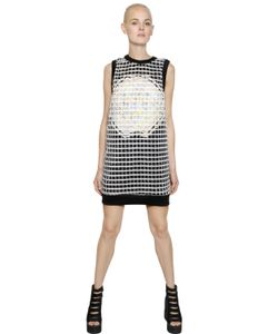 NATARGEORGIOU | Neoprene Cotton Dress With Lurex