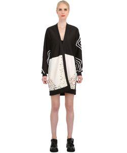 NATARGEORGIOU | Neoprene Laser Cut Silk Lace Jacket